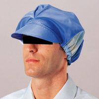 ミドリ安全 作業用帽子 キャップ ASB ブルー フリー 3189402020 1個 (直送品)
