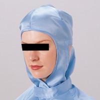 ミドリ安全 クリーンキャップ フード MS3B ブルー フリー 3189404020 1個 (直送品)