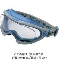 ミドリ安全 保護めがね ビジョンベルデ VG-503F ライトブルー 1個 4012700150(直送品)