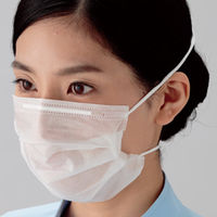 ミドリ安全 クリーンルーム用マスク・ゴーグル ミドリクリーンマスク Kー210SPNオーバーヘッド式 100枚/箱×30箱 4028015831 (直送品)