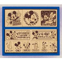 ビバリー 木製ごほうびスタンプ ディズニー ミッキーマウス SDH-072 (直送品)