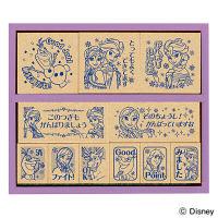 ビバリー 木製ごほうびスタンプ ディズニー アナと雪の女王 SDH-084 (直送品)