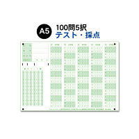 スキャネット マークシート A5(テスト・採点用)100問5択 SN-A5M1 1箱(1000枚入)(直送品)