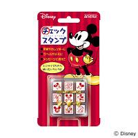 ビバリー チェックスタンプ ディズニー ミッキーマウス CK9-001 (直送品)