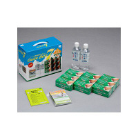 ミドリ安全 7年保存 防災食セット クイックBOX7 4082100136 1セット (直送品)