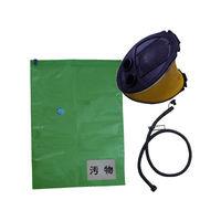 簡易トイレ用 非常時汚物圧縮保管袋 5MX(ポンプ付) 4082110916 1セット ケンユー (直送品)