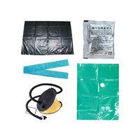災害用 簡易トイレ ベンリー袋100回 汚物圧縮保管袋セット 4082110918 1セット ケンユー (直送品)