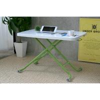 ガルト ミーティングテーブル LT-キュート GR グリーン 幅900×奥行600×高さ110~700mm 22002501 1台 (直送品)