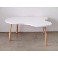 ガルト ミーティングテーブル クル リビングテーブル L WH ホワイト 幅1045×奥行930×高さ385mm 22007601 1台 (直送品)