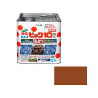 アサヒペン 水性ビッグ10多用途 10L 232カーキー色 (直送品)