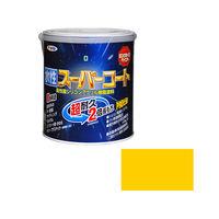 アサヒペン 水性スーパーコート 1.6L 黄色 (直送品)