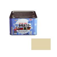 アサヒペン 水性多用途カラー 5L ティントベージュ (直送品)