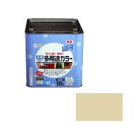 アサヒペン 水性多用途カラー 10L ティントベージュ (直送品)