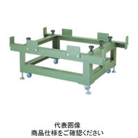 ナベヤ(NABEYA) 重量作業台 石定盤用アングル台(キャスター付) GP05075-SAC 1台(直送品)