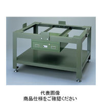 ナベヤ(NABEYA) 重量作業台 箱型定盤用アングル台 CP06090-SAC 1台(直送品)
