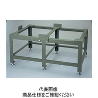 ナベヤ(NABEYA) 重量作業台 箱型定盤用アングル台 CP12024-SA 1台(直送品)