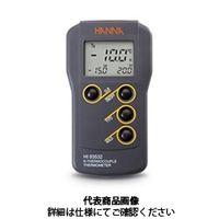 ハンナ インスツルメンツ・ジャパン 隔測式温度計 ポータブル温度計 HI 93532 1個(直送品)
