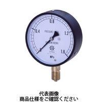 第一計器製作所 IPT一般圧力計SUS製 AT G1/4 60×0.1MPa IPT-226A-0.1MPA 1台 (直送品)