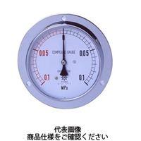 第一計器製作所 普通型圧力計 IPT一般圧力計SUS製 DU R1/2100×1.6MPa IPT-946D-1/6 1台 (直送品)