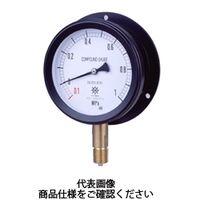 第一計器製作所 MPPプラ密閉圧力計SUS BMU R1/2 100×0.06MPa MPP-946B-0.06MPA-M 1台 (直送品)