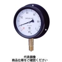 第一計器製作所 密閉形圧力計 MPPプラ密閉圧力計SUS BMU R1/2100×0.7MPa MPP-946B-0/7-M 1台 (直送品)