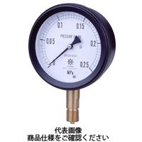 第一計器製作所 MPK金属密閉連成計SUS AU G3/8 75×0.4/ー0.1MPa MPK-336A-0.4/-0.1MPA 1台 (直送品)