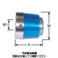 IZUSHI CH2-シリーズ 替頭(樹脂カバー付) CH2-17H 1セット(2個)(直送品)