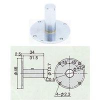 尾崎製作所 ダイヤルゲージオプション品 ピーコック ウラブタ ダイヤルヨウ GB-4A 1個(直送品)