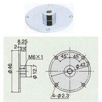 尾崎製作所 ダイヤルゲージオプション品 ピーコック ウラブタ ダイヤルヨウ GB-5A 1個(直送品)