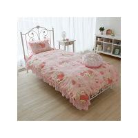ベッド用カバー 寝具3点セット(ピローケース・掛布団カバー・シーツ) マイメロディ (直送品)