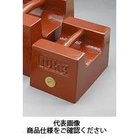村上衡器製作所 鋳鉄製まくら型分銅 M2級 10KG 1台(直送品)