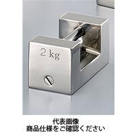 村上衡器製作所 まくら型分銅 ステンレス鋼製 F1級 20KG 1台(直送品)