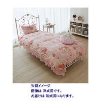 和式用カバー 寝具3点セット(ピローケース・掛布団カバー・シーツ) マイメロディ (直送品)