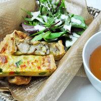 【カフェ業務用】大容量 3種のきのこのキッシュ&7種の野菜キッシュセット (直送品)
