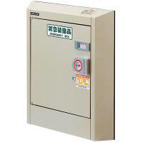 エレベーター用防災キャビネット(フラットタイプ) 6656 東京都葛飾福祉工場 (直送品)