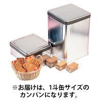 <LOHACO> 5年保存大型カンパン 1斗缶 2029 東京都葛飾福祉工場 (直送品)画像