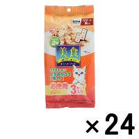 ケース販売 美食メニュー キャットフード ツナ一本仕込み 鯛入り とろみ仕立て 1ケース(24個) アイリスオーヤマ (直送品)