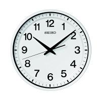 SEIKO(セイコークロック) 衛星電波掛時計 GP214W 1個 (直送品)