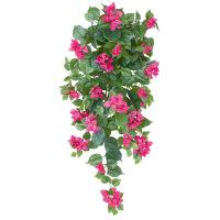 タカショー 人工観葉植物 ブーゲンビリア  ハンギング 60cm 1セット(2本入 )