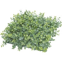 タカショー 人工観葉植物 ユーカリマット 27×27cm 1セット(6枚入)