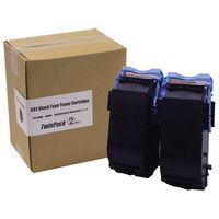キヤノン レーザートナーカートリッジ トナーカートリッジ502BLK2P ブラック 1パック(2個入) CRG-502BLK2P タイプ輸入品 (直送品)