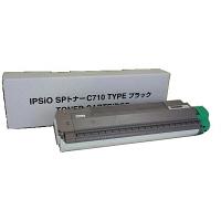 レーザートナーカートリッジ IPSiO SP トナーブラック C710タイプ 汎用品 (直送品)