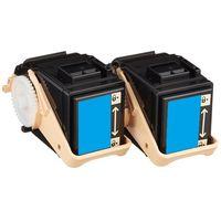 レーザートナーカートリッジ CT201403タイプ シアン 1パック(2個入) 汎用品 (直送品)