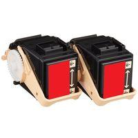 レーザートナーカートリッジ CT201404タイプ マゼンタ 1パック(2個入) 汎用品 (直送品)
