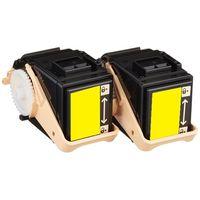 レーザートナーカートリッジ CT201405タイプ イエロー 1パック(2個入) 汎用品 (直送品)