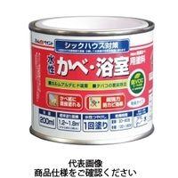 アトムサポート(アトムハウスペイント) 水性かべ・浴室用塗料 200ML 黒 4971544132655(直送品)