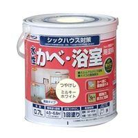 アトムサポート(アトムハウスペイント) 水性かべ・浴室用塗料 0.7L ミルキーホワイト 4971544133027(直送品)