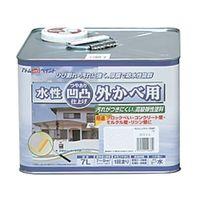 アトムサポート(アトムハウスペイント) 凹凸外かべ用塗料 7L ホワイト 4971544158310 1缶(7000mL)(直送品)