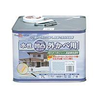 アトムサポート(アトムハウスペイント) 凹凸外かべ用塗料 7L アーバングレー 4971544158341 1缶(7000mL)(直送品)