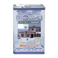 アトムサポート(アトムハウスペイント) 凹凸外かべ用塗料 14L ホワイト 4971544158358 1缶(14000mL)(直送品)